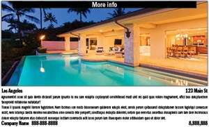 Full-color photo ad