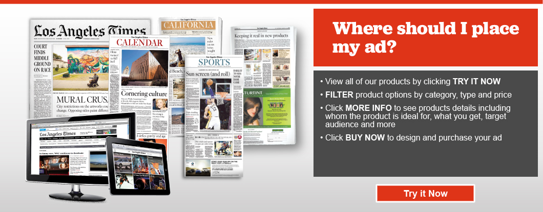 Advertise with the Los Angeles Times